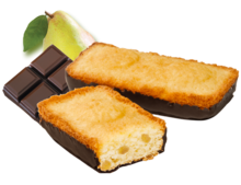 Financiers Poire Choconoir